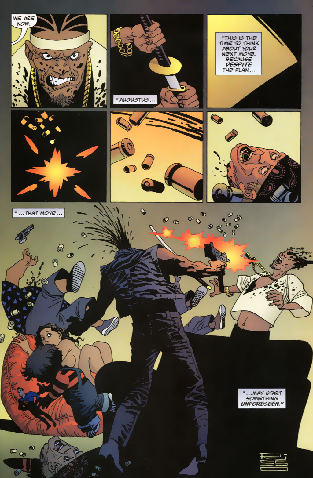 Read online 100 Bullets comic -  Issue #63 - 20