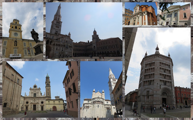 Day trip to Modena and Parma - architecture