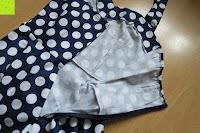 Reißverschluss: VKStar® Vintage 50er 60er Tupfe Neckholder Retro Cocktailkleid Rockabilly Audrey Hepburn Swing Kleid Kurz Damen Abendkleid