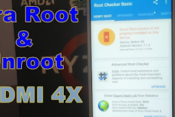 Cara Root Xiaomi 4X