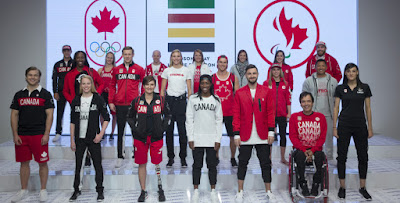 Rio 2016 - Uniformes Canadá