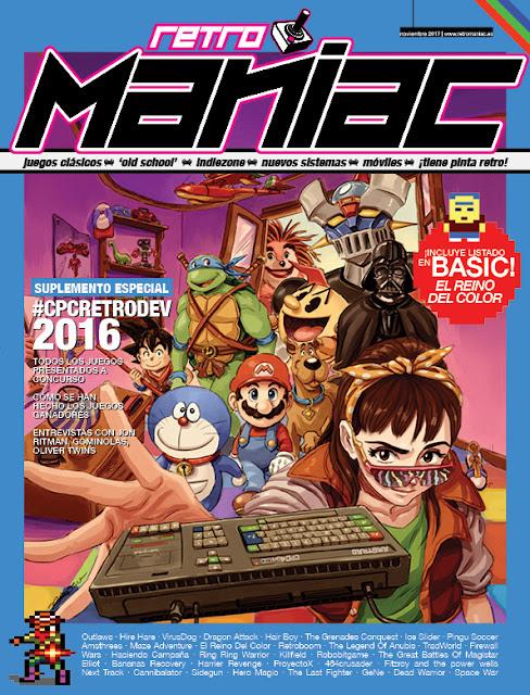 RetroManiac Magazine - Especial CPCRetroDev16 (ECPC16)