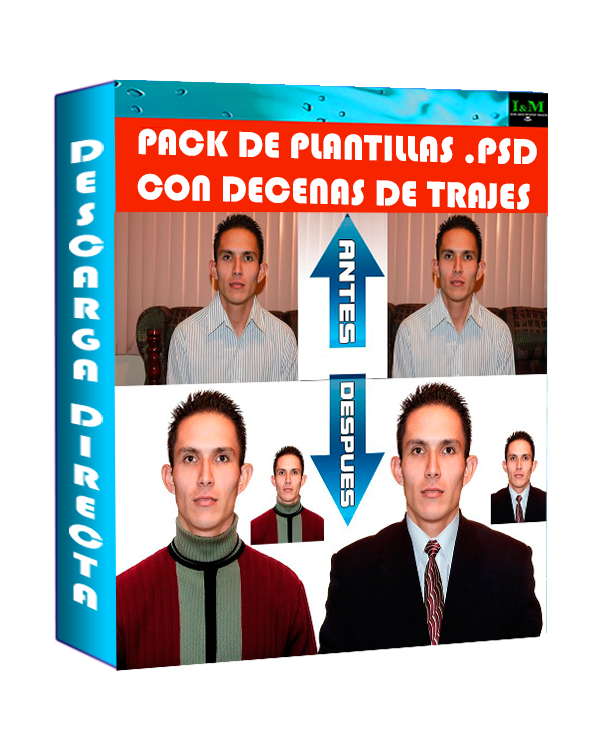 Descargar Plantilla PSD Trajes para caballero - Editables para ...