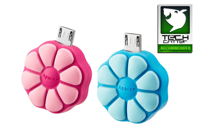 APACER AH 172 FLOWER CANDY Mobile Flash Drives OTG Review 24