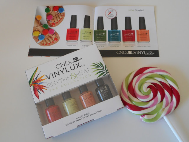 CND Vinulux Weekly Polish Rhythm & Heat Collection