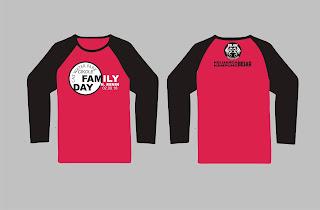 Desain Kaos Family Day