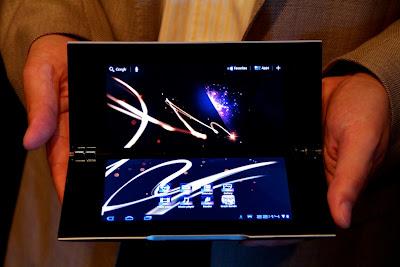 """sonytabs7 Mais um """"Nintendo DS"""" com Android, desta vez da Sony!"""
