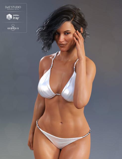 Classic Bikini for Genesis8Female