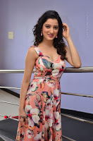 Actress Richa Panai Pos in Sleeveless Floral Long Dress at Rakshaka Batudu Movie Pre Release Function  0081.JPG