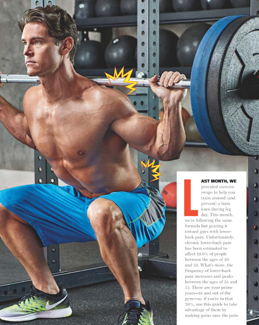Train around lower-back injuries by utilizing these leg-day swaps