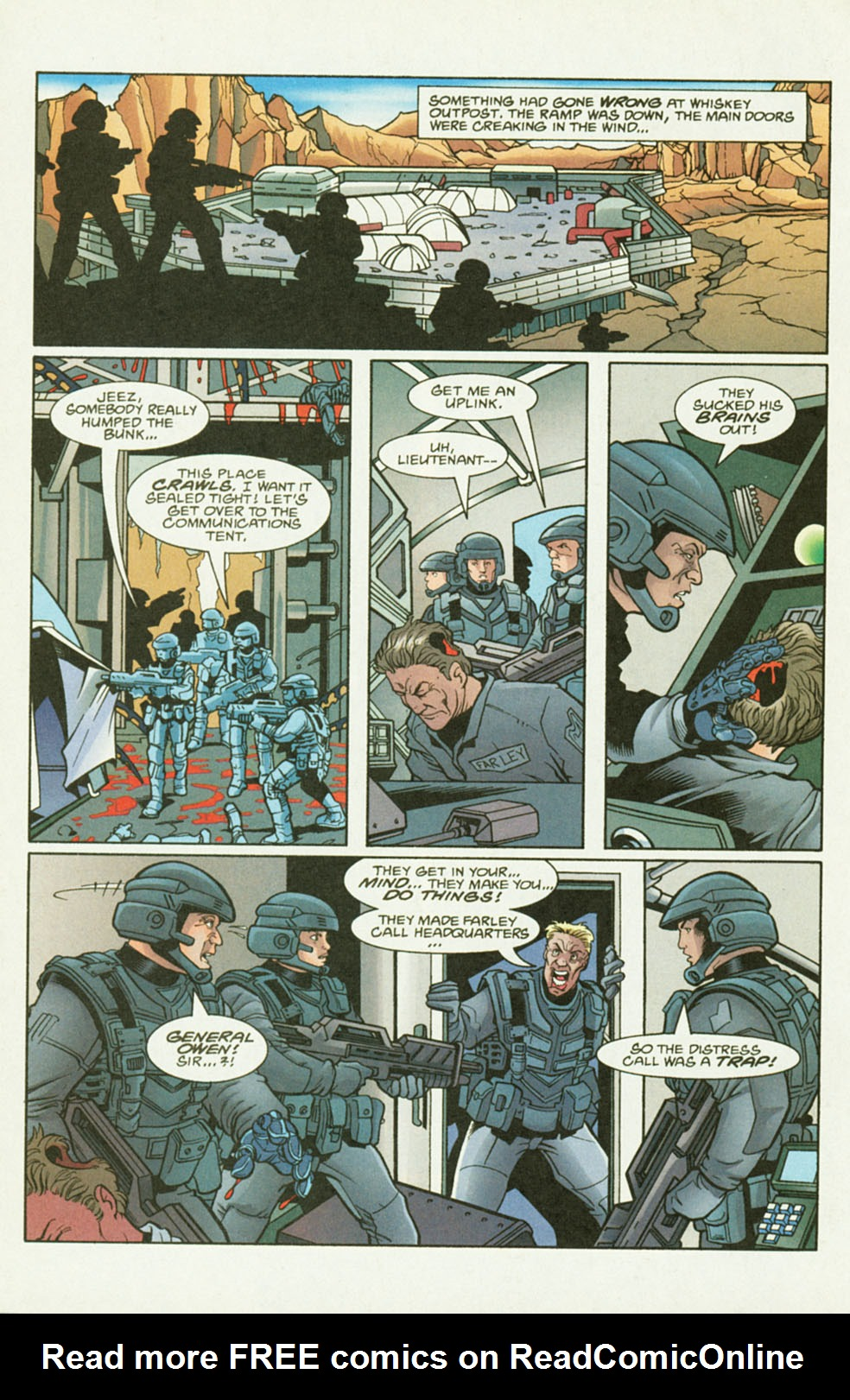 Read online Starship Troopers comic -  Issue #2 - 10