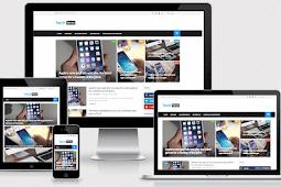 Tech News Responsive Technology Blogger Template Free Download
