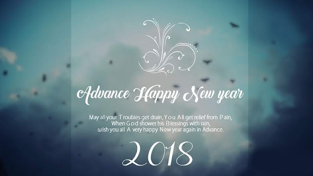Advance New Year 2018 Images
