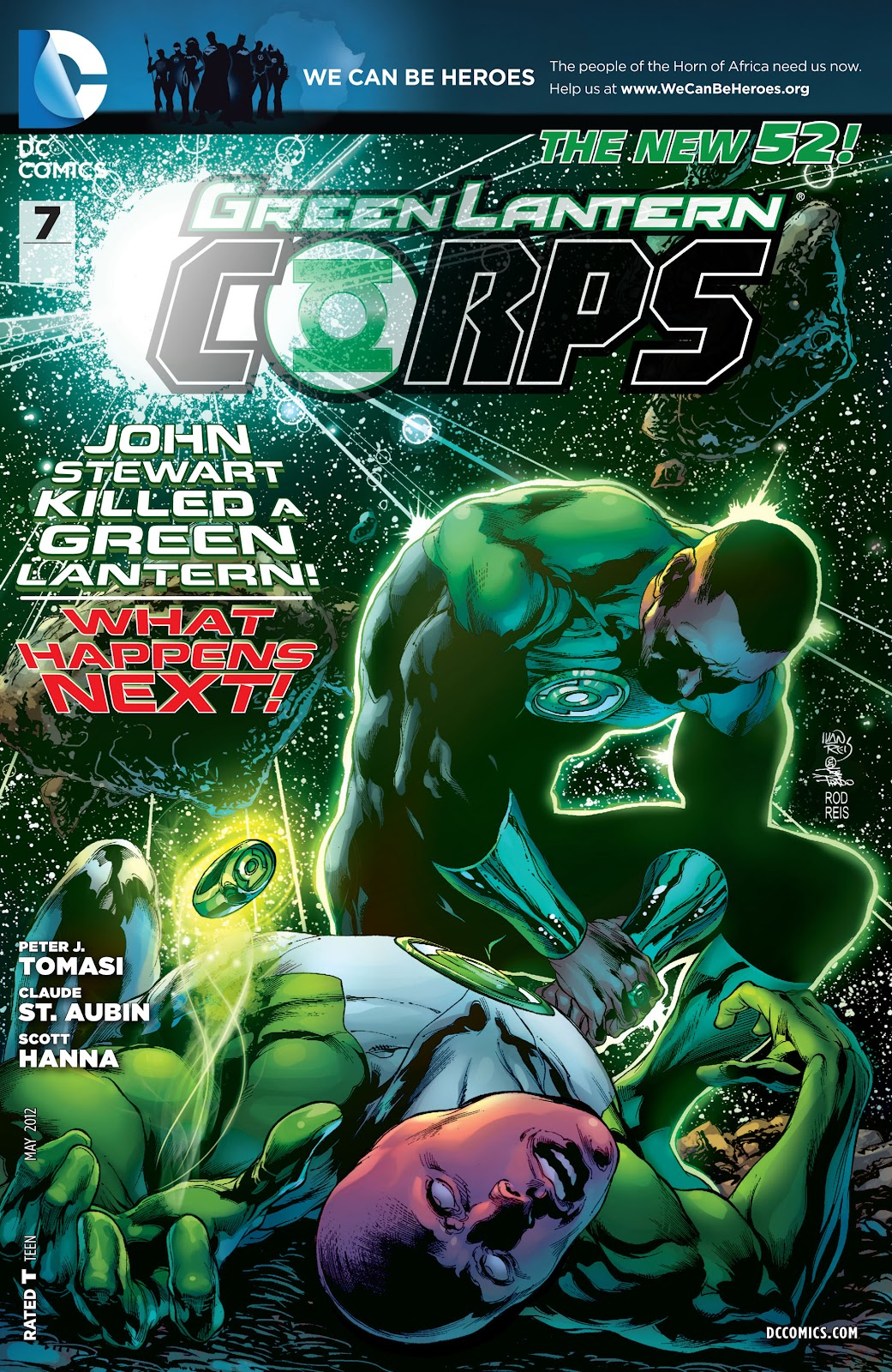 Green Lantern Corps (2011) issue 07 - Page 1