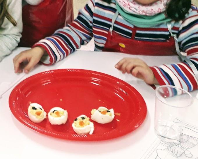 Recetas para realizar estas navidades con niños.