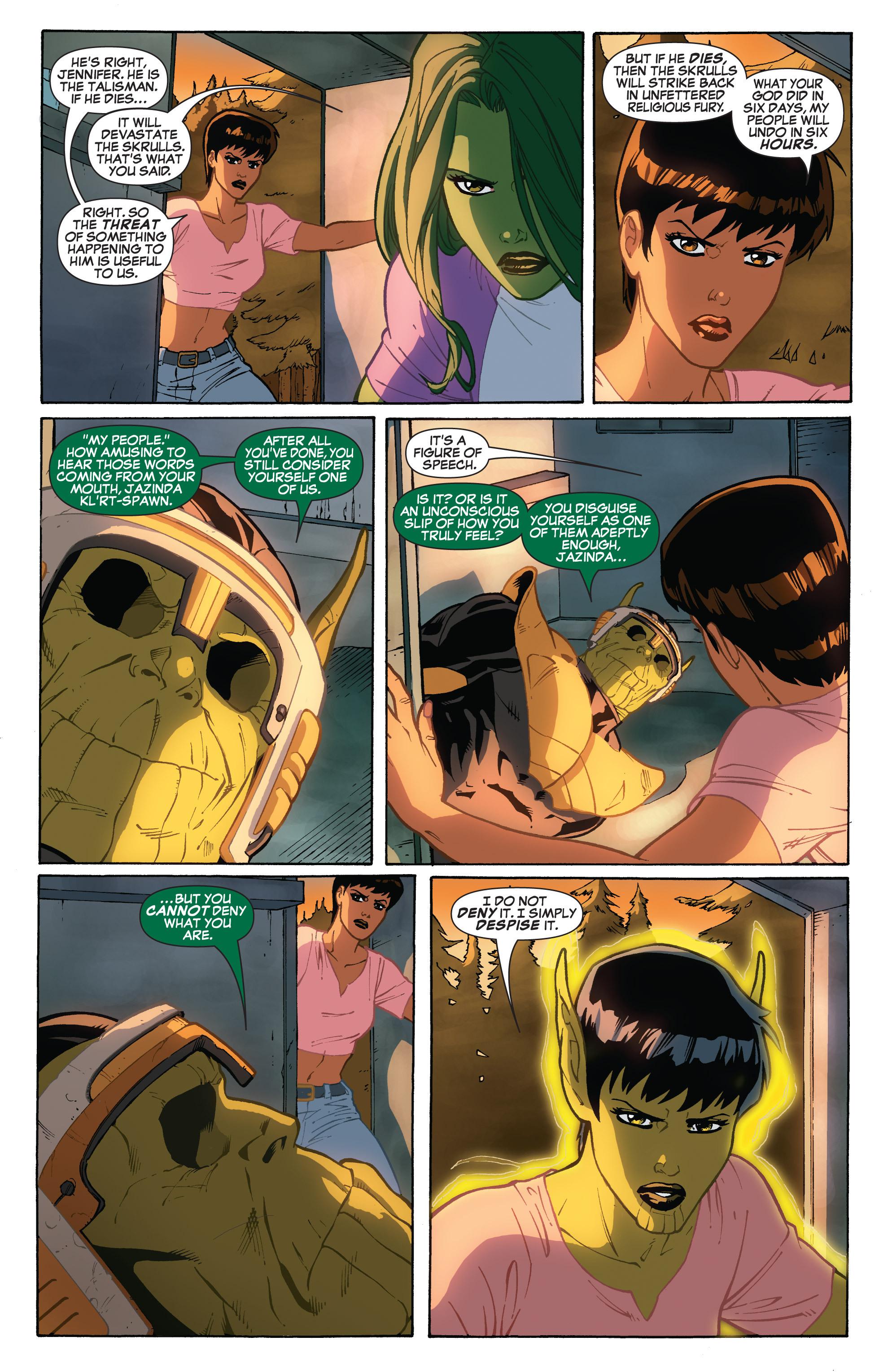 Read online She-Hulk (2005) comic -  Issue #32 - 6