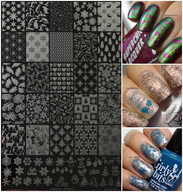 Lina Nail Art Supplies | Winter 01