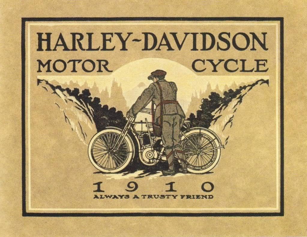 Harley Davidson Advertising: Charlie Horse: Vintage Ads By Harley Davidson
