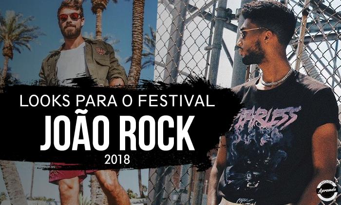 Looks Masculinos para o Festival de musica João Rock 2018