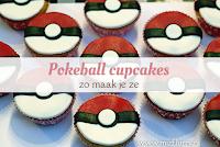 Pokeball cupcakes - zo maak je ze