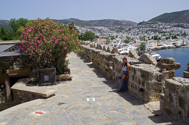 Girl at Bodrum Castle