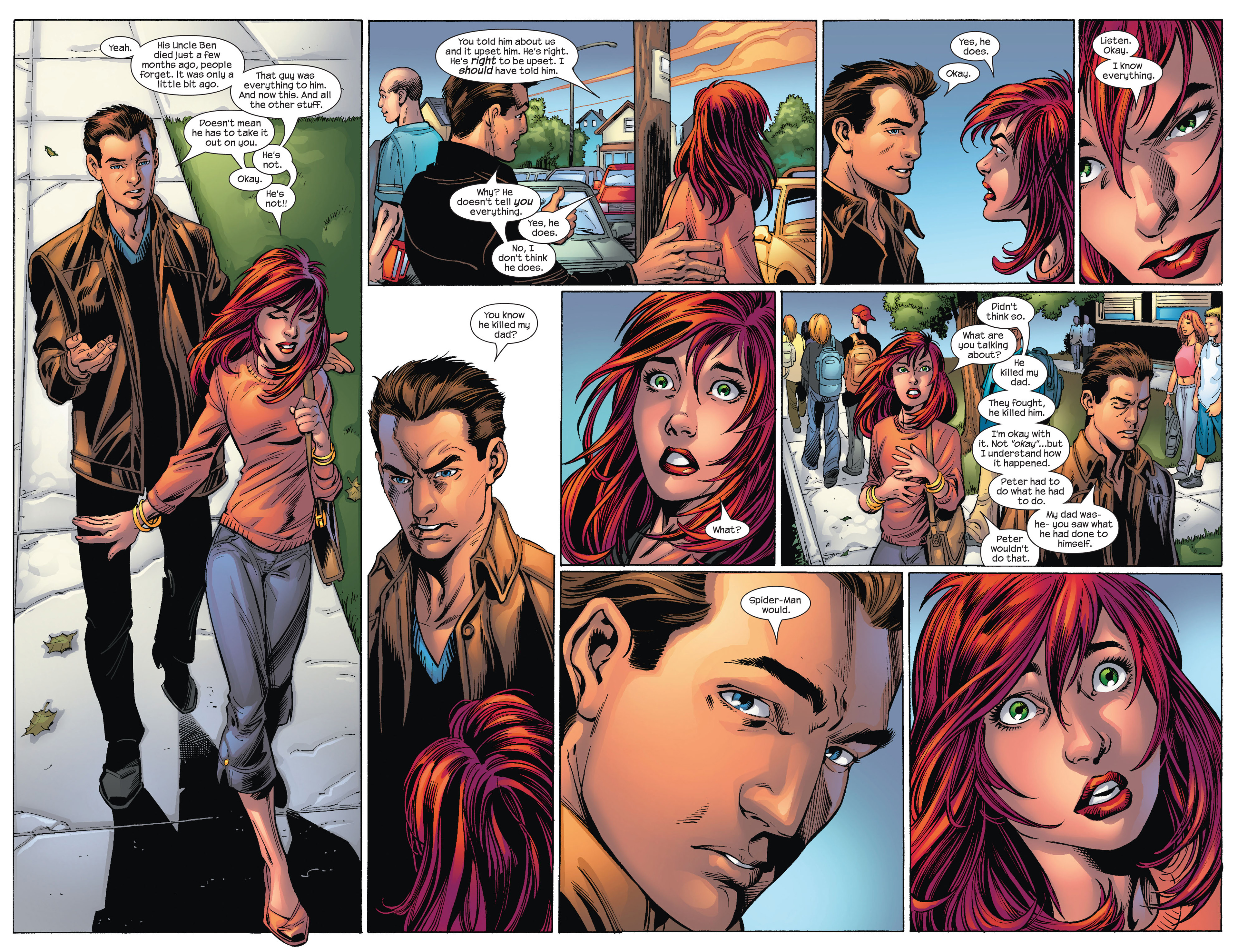 Read online Ultimate Spider-Man (2000) comic -  Issue #74 - 12