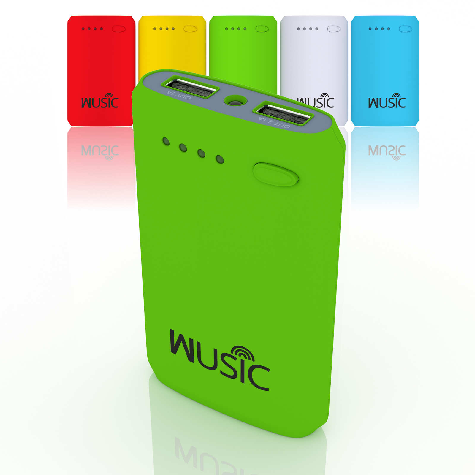 Wusic Portable Power Bank Review and Giveaway. Ends 7/8