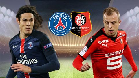 PSG đã có một chiến thắng đầy nhọc nhằn trước Rennes.