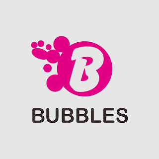 Bubbles Elegant Pink Flat Logo Free Download Vector CDR, AI, EPS and PNG Formats