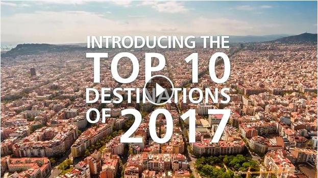 Top 10 Destinations of 2017
