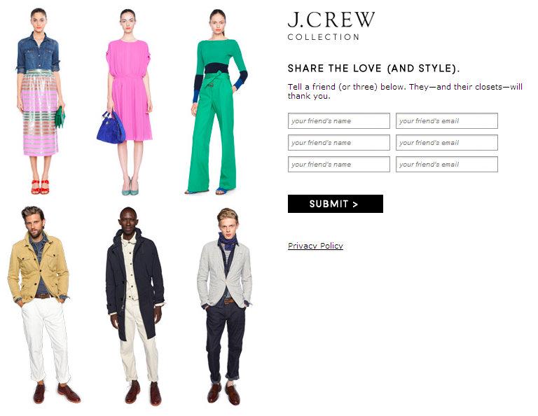 MISS CAVENDISH: Miss Cavendish, Fashion Activist for J Crew