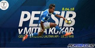 Tiket Persib vs Mitra Kukar Sudah Bisa Dipesan, Harga Rp50 - 200 Ribu
