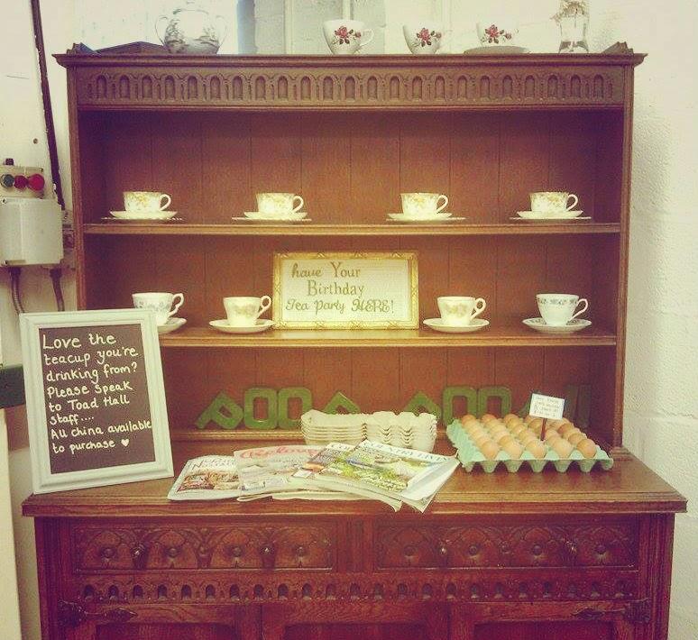 Toad Hall Wimborne Birthday Tea Parties