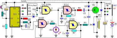 Sleeping Aid Circuit diagram