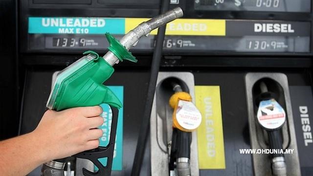 Harga Petrol, Diesel Naik Lagi Menjelang Malam Tahun Baru 2017