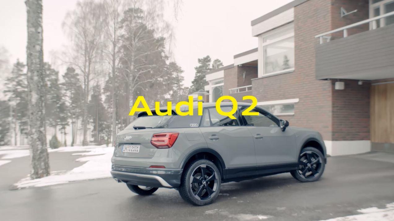 Canzone Audi Q2 #untaggable Pubblicità