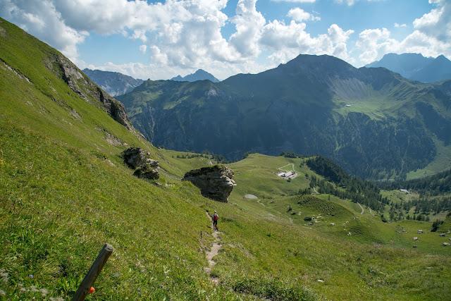 Bergtour Rappenstein von Steg  Wandern Fürstentum Liechtenstein 12