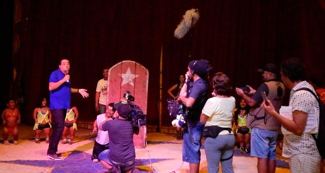 TV Record vem Taira para conta a história do Circo dos 7 Anões