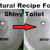Natural Recipe For A Shiny Toilet No Scrubbing Needed Just Use This 2 Ingredients!