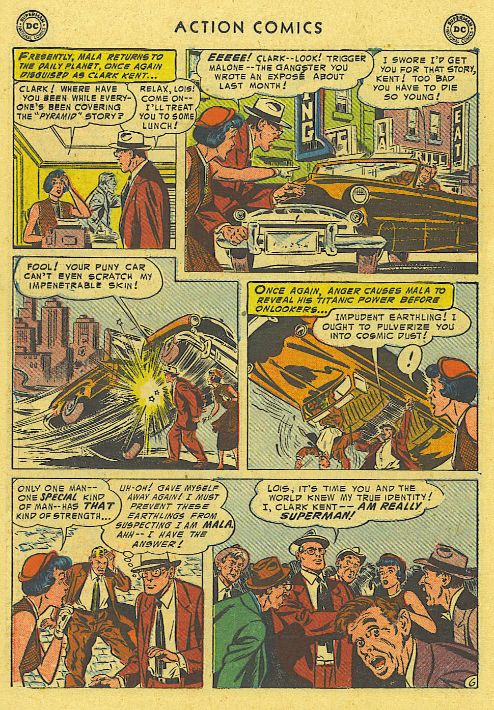 Read online Action Comics (1938) comic -  Issue #194 - 7