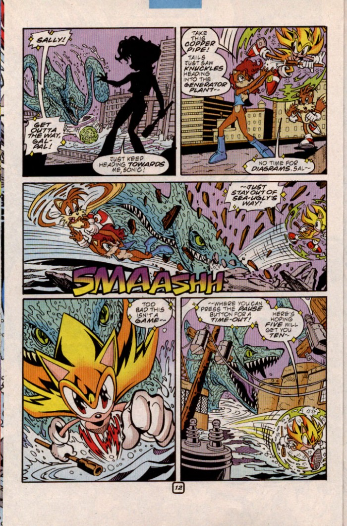Read online Sonic The Hedgehog comic -  Issue #84 - 12