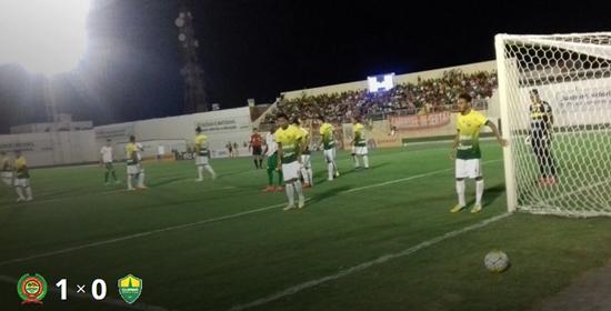 Juazeirense vence Cuiabá no Adauto Moraes