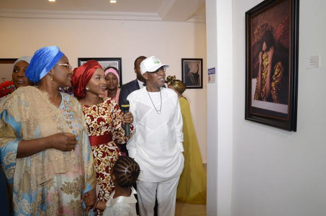 Hanan Buhari debut photo exhibition in Abuja