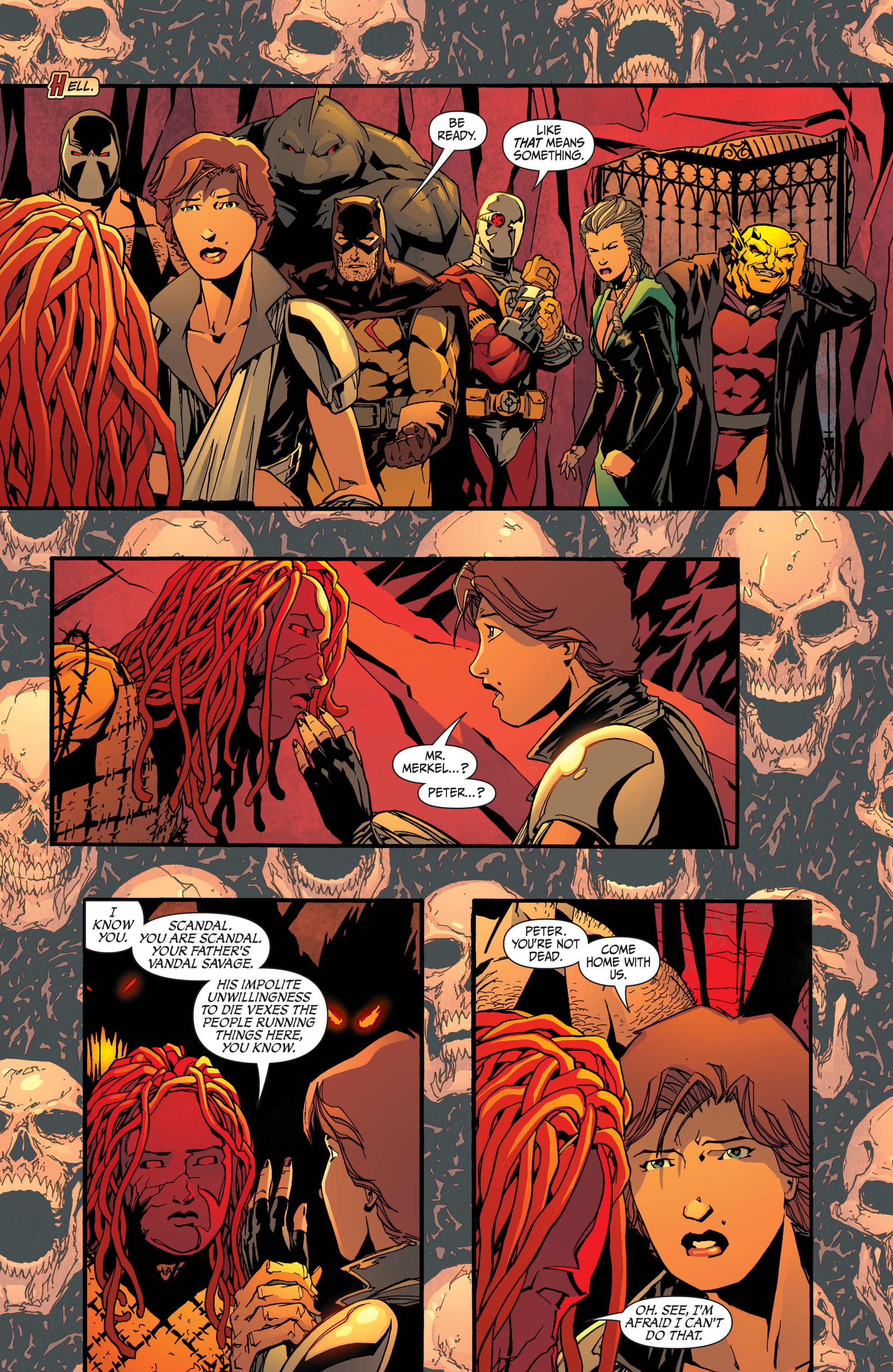Read online Secret Six (2008) comic -  Issue #32 - 2