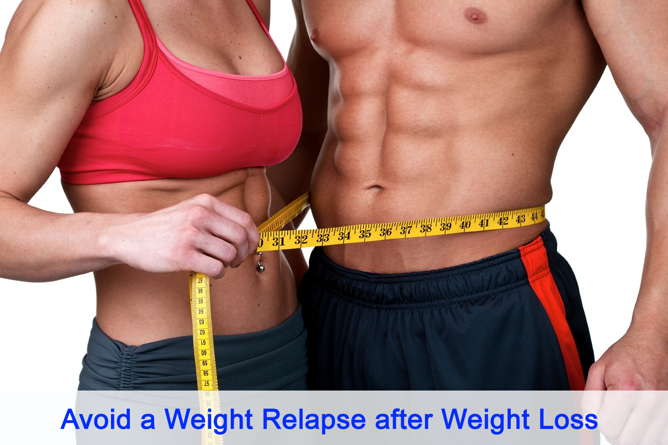 Avoid a Weight Relapse after Weight Loss