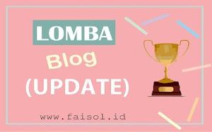 (UPDATE) Lomba Blog Oktober 2018