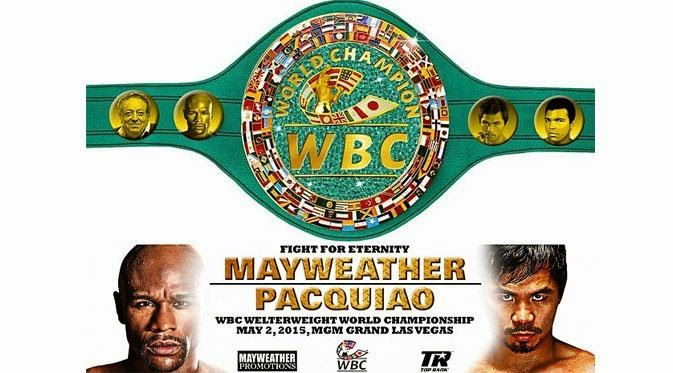 Mayweather Vs Pacquiao 3 Mei 2015