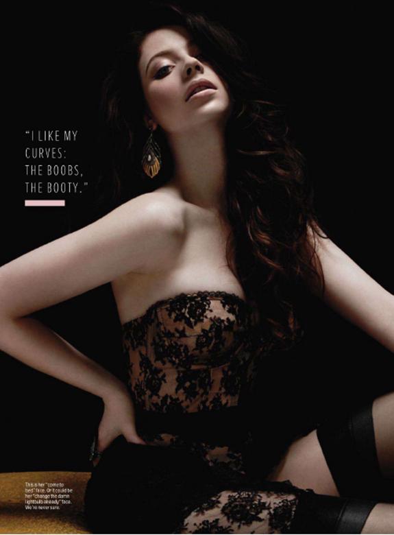 Michelle Trachtenberg on Maxim Magazine Photo shoot - All