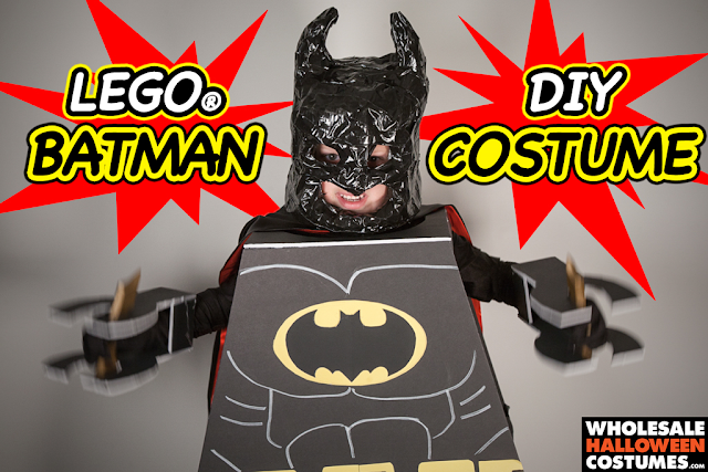 LEGO Batman Halloween costume