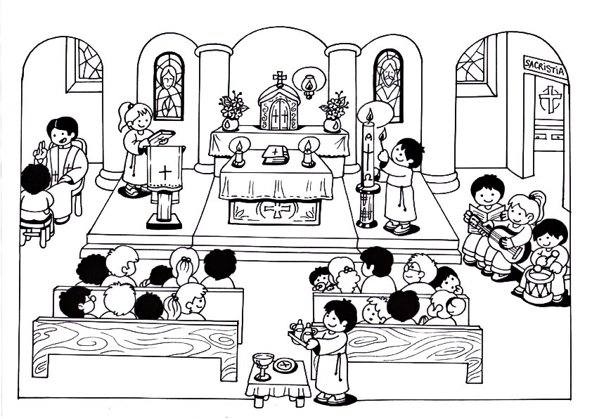 La Imagen De La Eucaristia Para Pintar Imagui
